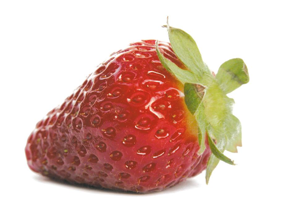 Les fraises .. de la couleur dans vos menus