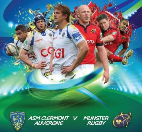 Gagnez vos places pour le match de HCup : ASM-Munster à Montpellier