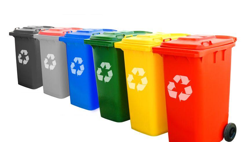 recyclage poubelle tri sélectif écologie environnement
