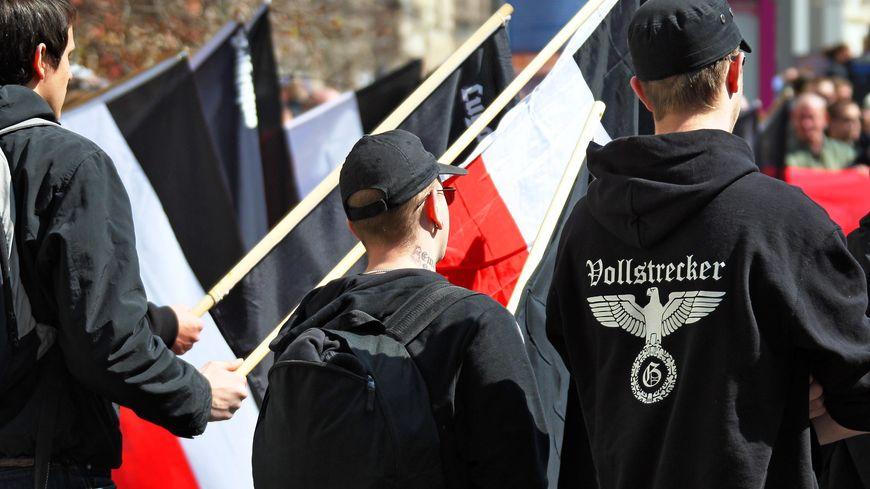 Des néo-nazis en Allemagne en avril 2012 (illustration, photo mise à jour le 20 mai)