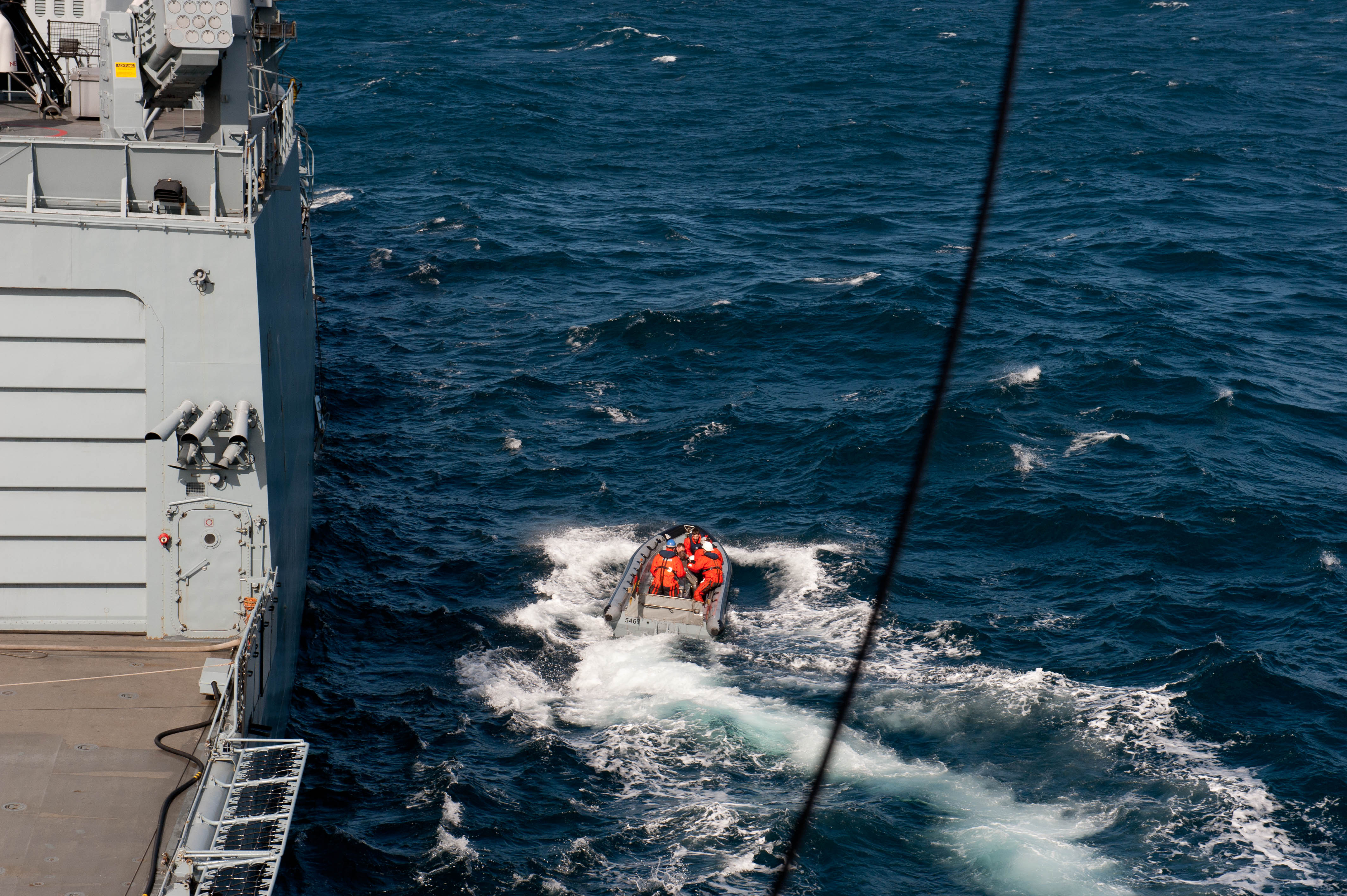 Un homme sauvé en mer au large de l'île de Ouessant  - Aucun(e)