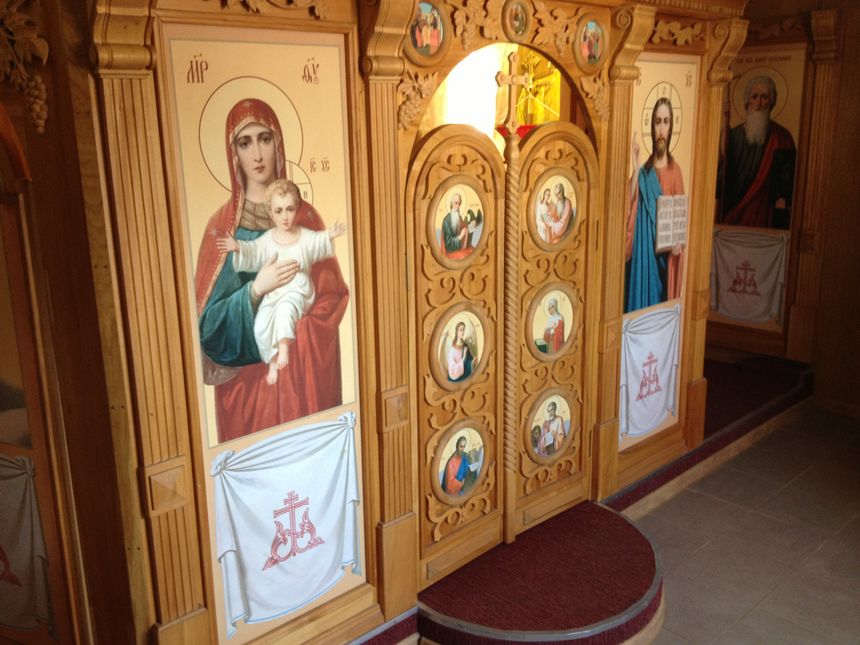 Le Kruzenshtern - La chapelle orthodoxe - Eric Turpin - Radio France