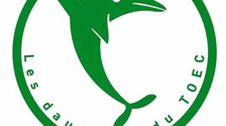 Les dauphins du TOEC (logo)