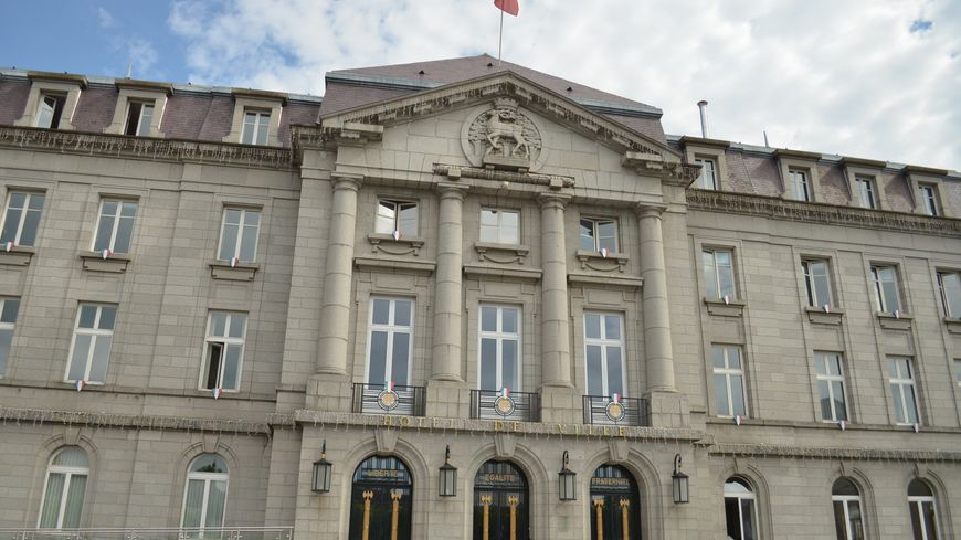L'hôtel de ville de Guéret.
