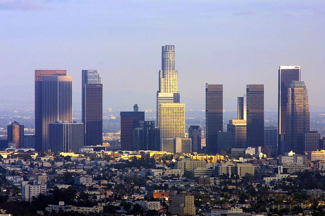 Los Angeles, vue d'Hollywood