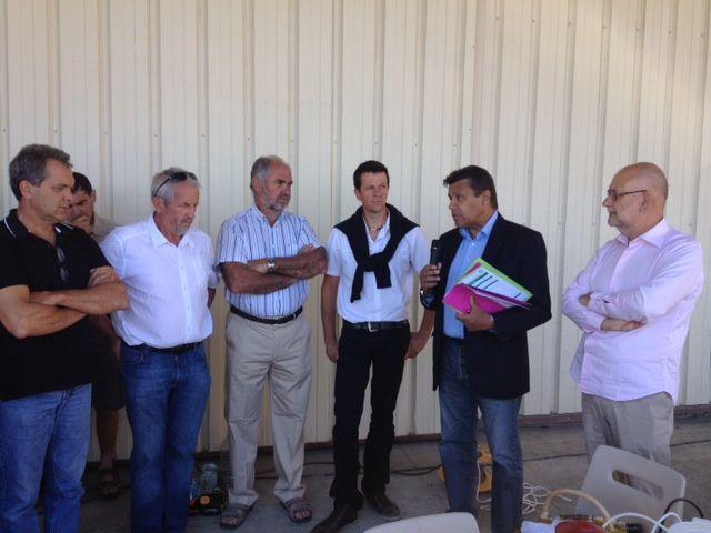 Xavier Beulin le patron de la FNSEA en visite en Dordogne - Radio France