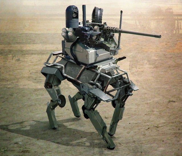 """Le Big-Dog, option """"armé"""""""