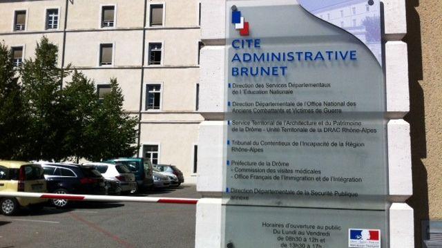 La direction académique de l'Education nationale à Valence dans la Drôme.