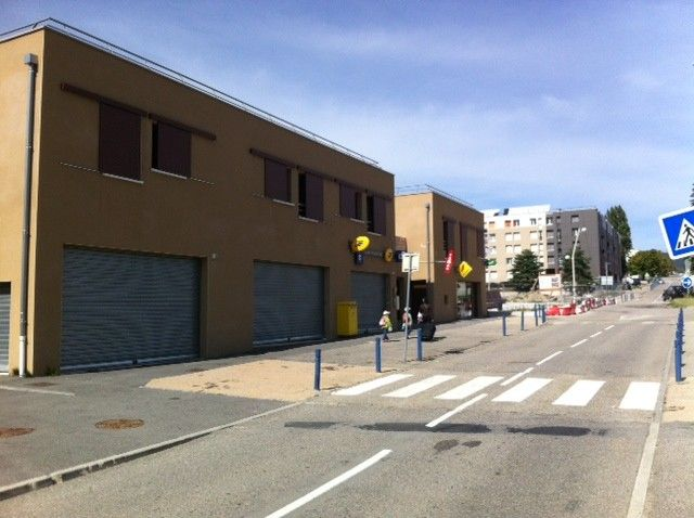 Le bureau de Poste dans le quartier Zodiaque à Annonay en septembre 2013.  - Stéphane Milhomme - Radio France