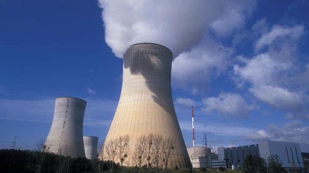 Centrale nucléaire. Image d'illustration.