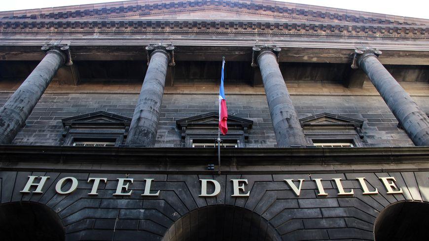 L'hôtel de ville de Clermont-Ferrand.