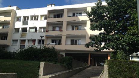 L'immeuble de Romain L. à Hérouville-Saint-Clair.