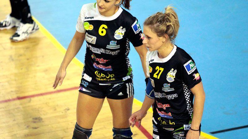 Alice Durand (à gauche) et Marion Maubon (à droite) veulent sauver l'UMBB