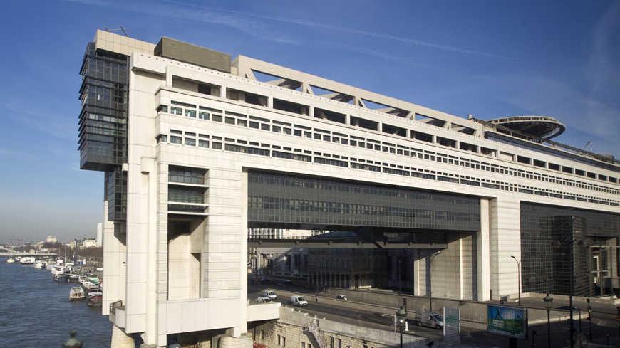 Le ministère de l'Economie et des Finances, à Bercy