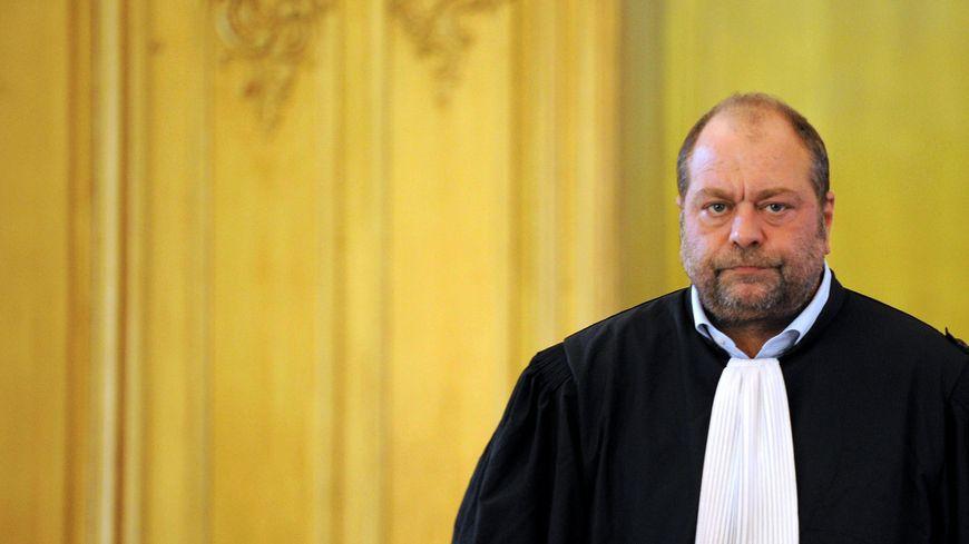 L'avocat Eric Dupond-Moretti lors du troisième procès de Jean-Louis Muller, à Nancy le 21 cotobre.