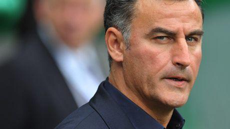 Christophe Galtier, entraîneur de l'ASSE