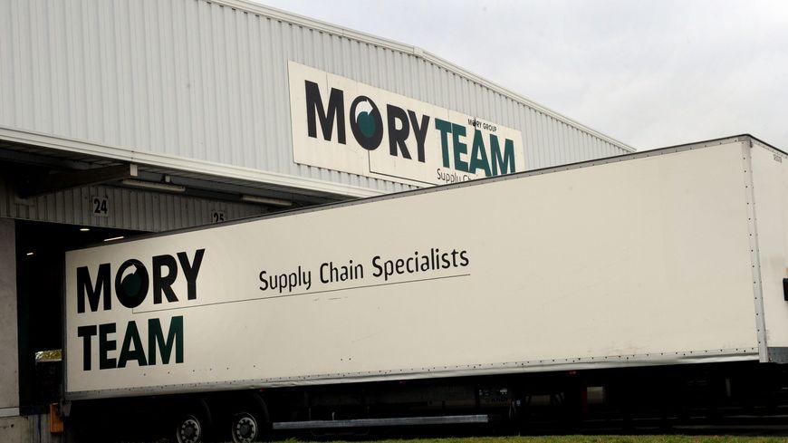 L'un des sites du transporteur Mory Ducros