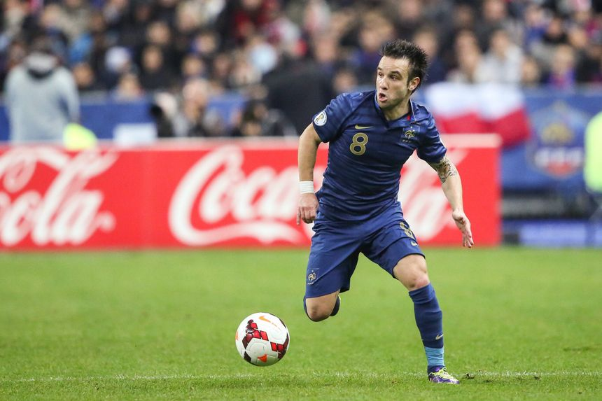 Mathieu Valbuena bien parti pour être titulaire dimanche face au Honduras. - Maxppp