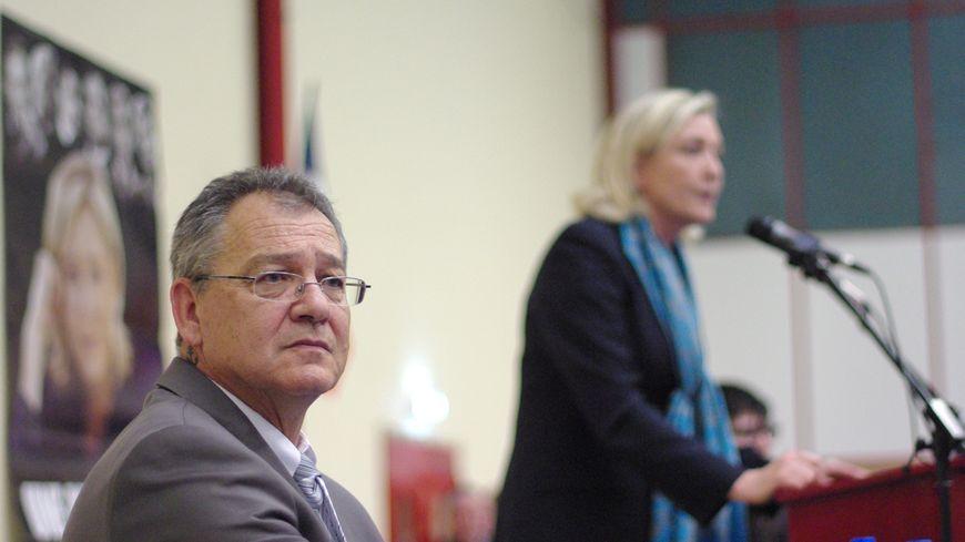Robert Dubois, secrétaire départemental du Front national en Dordogne, le samedi 9 novembre.