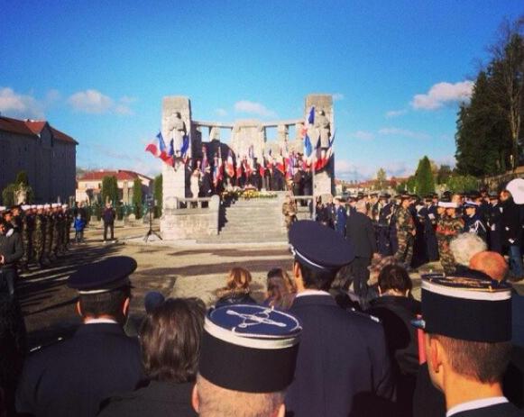 Pontarlier, 11 novembre, Légion étrangère