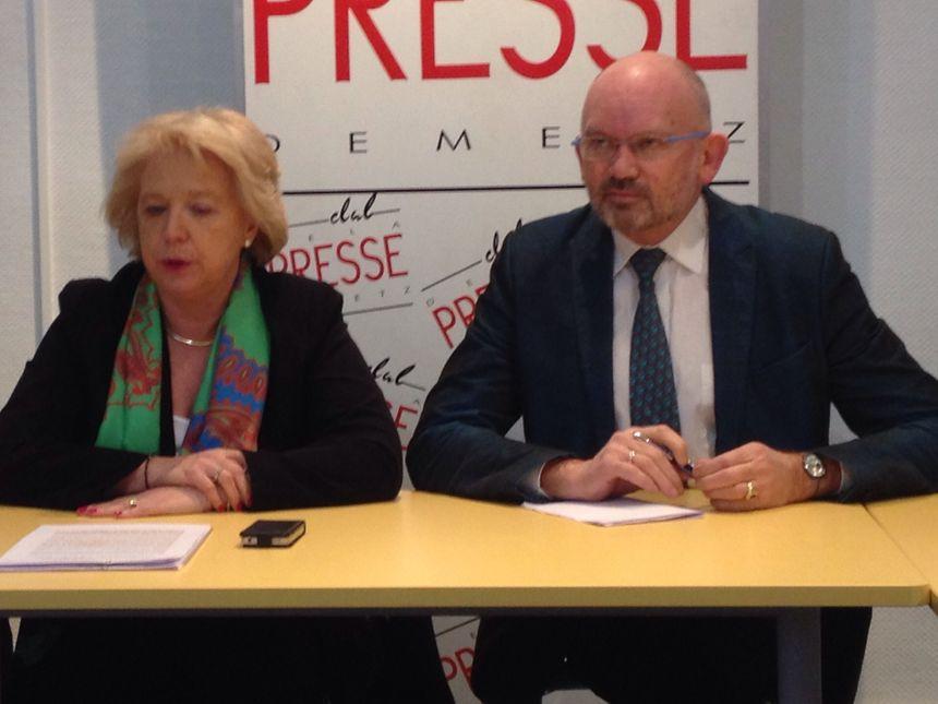 Marie-Jo Zimmermann, chef de file UMP à Metz pour les municipales - Radio France
