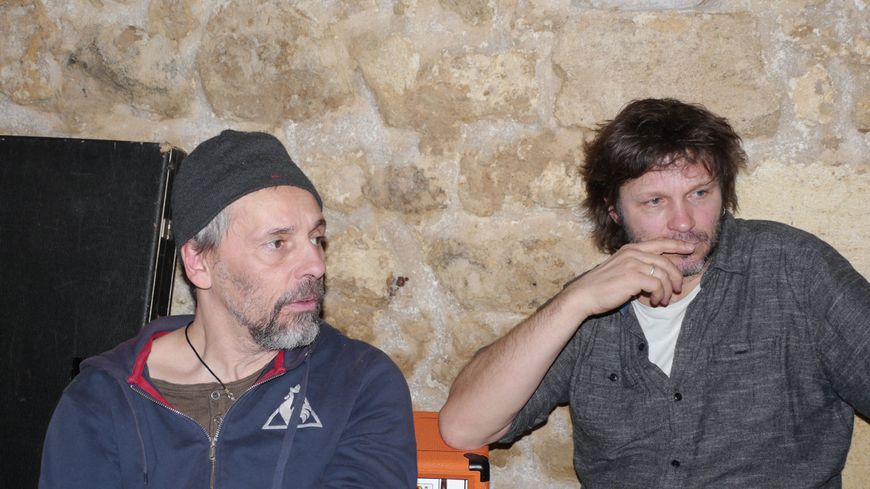 Pascal Humbert et Bertrand Cantat