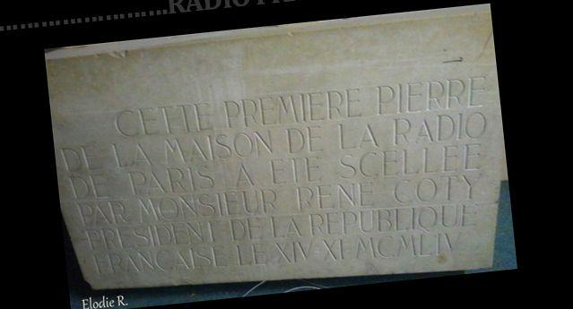 La première pierre de la Maison de la Radio - elodier23.tumblr.com