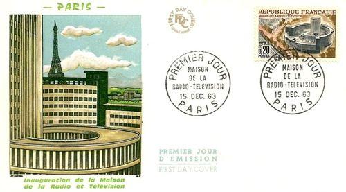 L'enveloppe inaugurale de la Maison de la Radio - Radio France