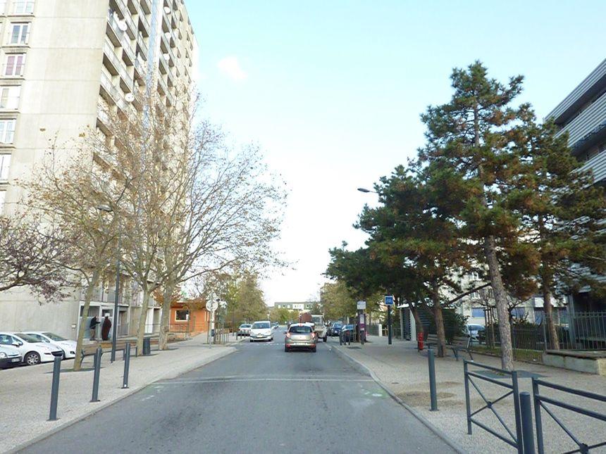 Le quartier de la Monnaie à Romans, en décembre 2013.  - Stéphane Milhomme - Radio France