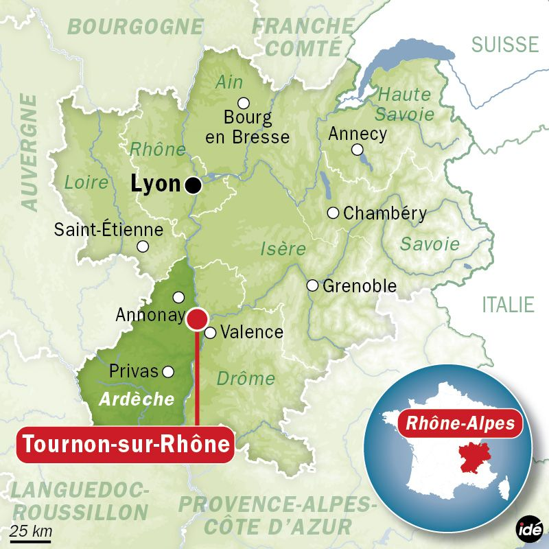 Tournon-sur-Rhône - IDÉ