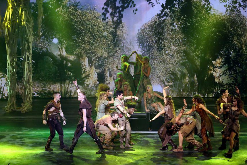 Le spectacle Robin des bois  - Frédéric Dugit - MaxPPP