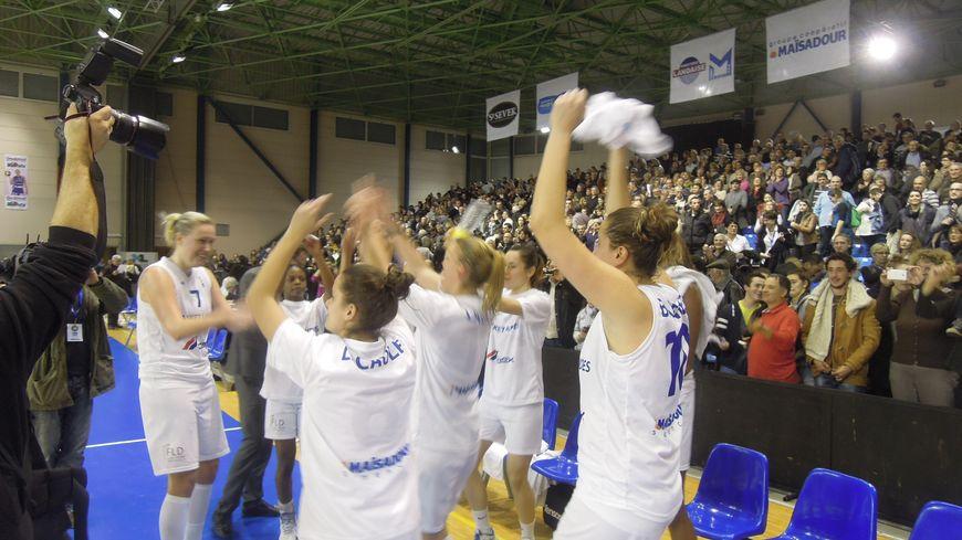 Basket Landes victoire !
