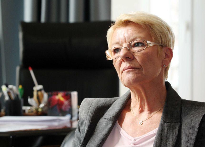 Doris Belloni, candidate à sa réélection à Amnéville, municipales 2014 - MAXPPP