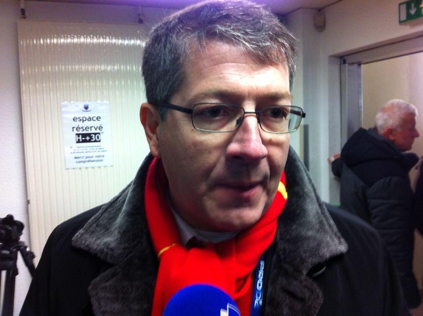 François Rivière, président de l'USAP - Radio France - Cyrille Manière
