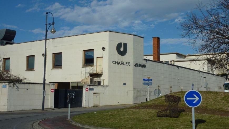 L'ancien site des chaussures Charles Jourdan à Romans dans la Drôme, janvier 2014.