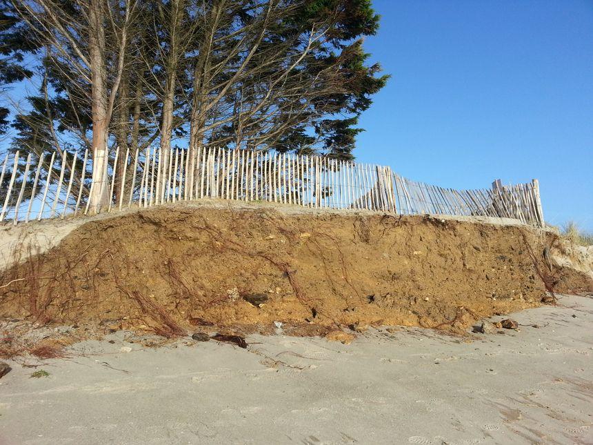 La dune du Treustel à Combrit - Radio France