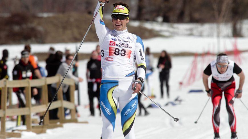 Adrien Backscheider ski de fond (photo 2012)