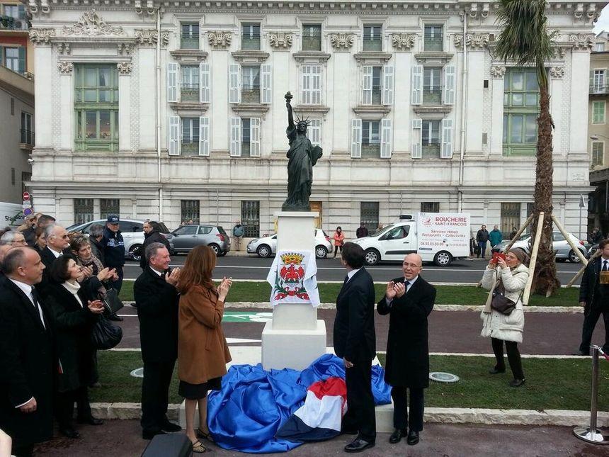 Nice a désormais sa statue de la Liberté  - Radio France