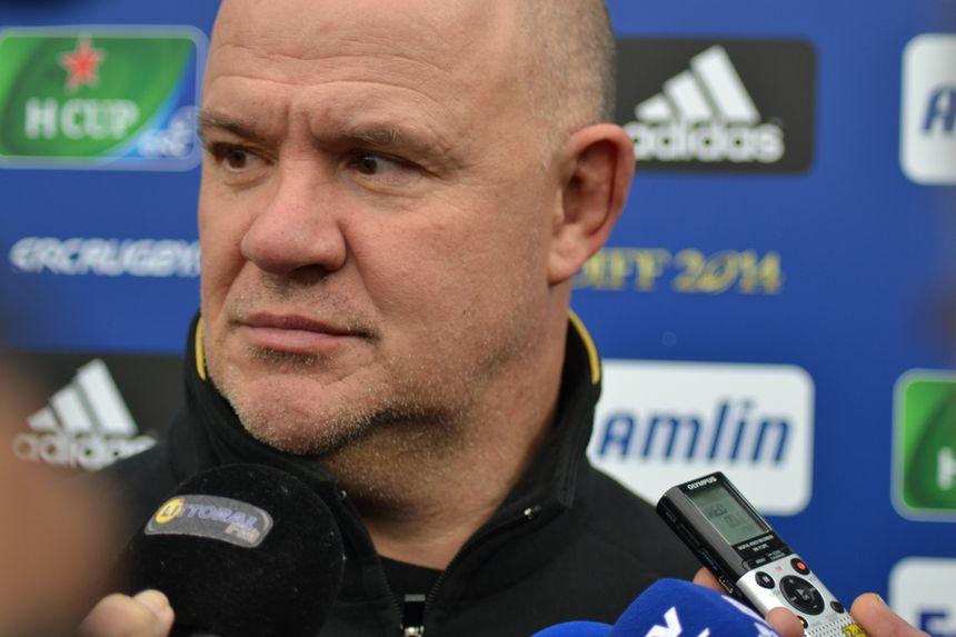 Marc Delpoux, entraîneur de l'USAP - Radio France - Stéphane Garcia