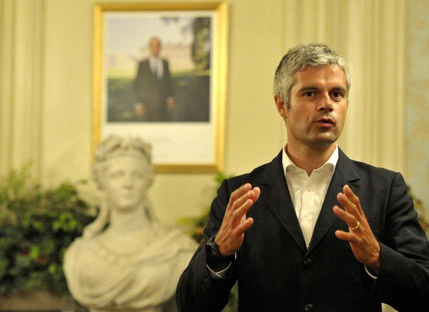 Laurent Wauquiez, le maire du Puy-en-Velay. - Maxppp