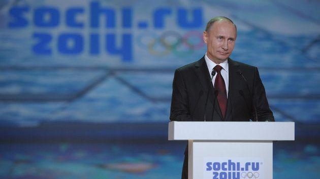 Le président russe Vladimir Poutine s'est toujours voulu rassurant sur la bonne tenue des JO
