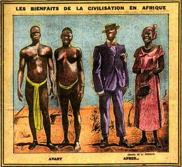 "Dessin de A. Gulland extrait du journal ""Mer et Colonies"" n°265, mars 1934"