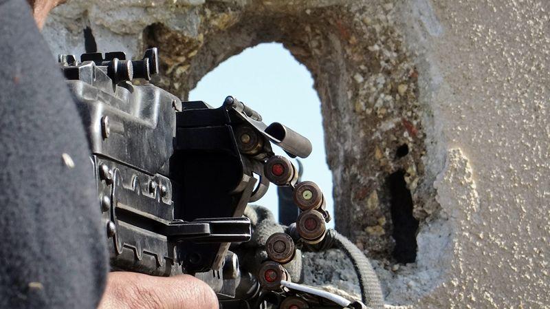 Combattant de l'armée syrienne libre à Alep