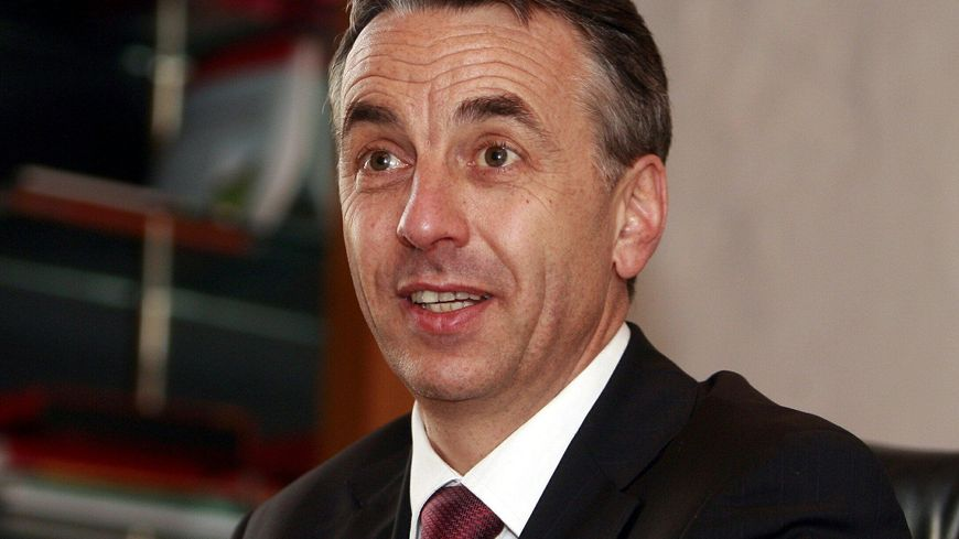 Jean-Luc Rigaut, le maire d'Annecy