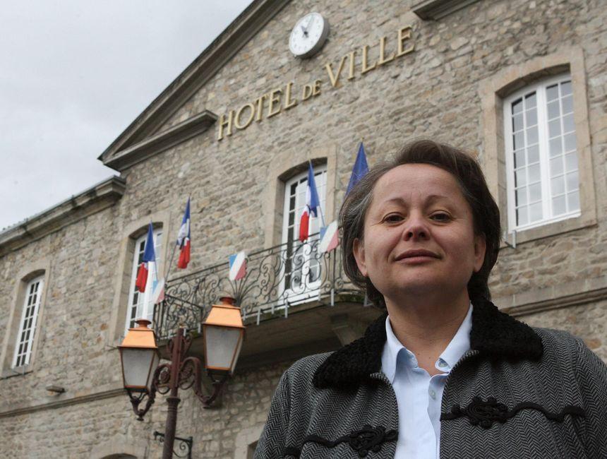 Liliane Faure, maire PS de Montbrison - Maxppp