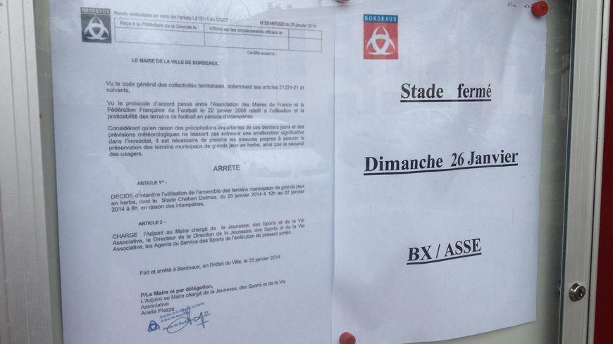 FOOT Bordeaux / ASSE se jouera-t-il à 17h ?
