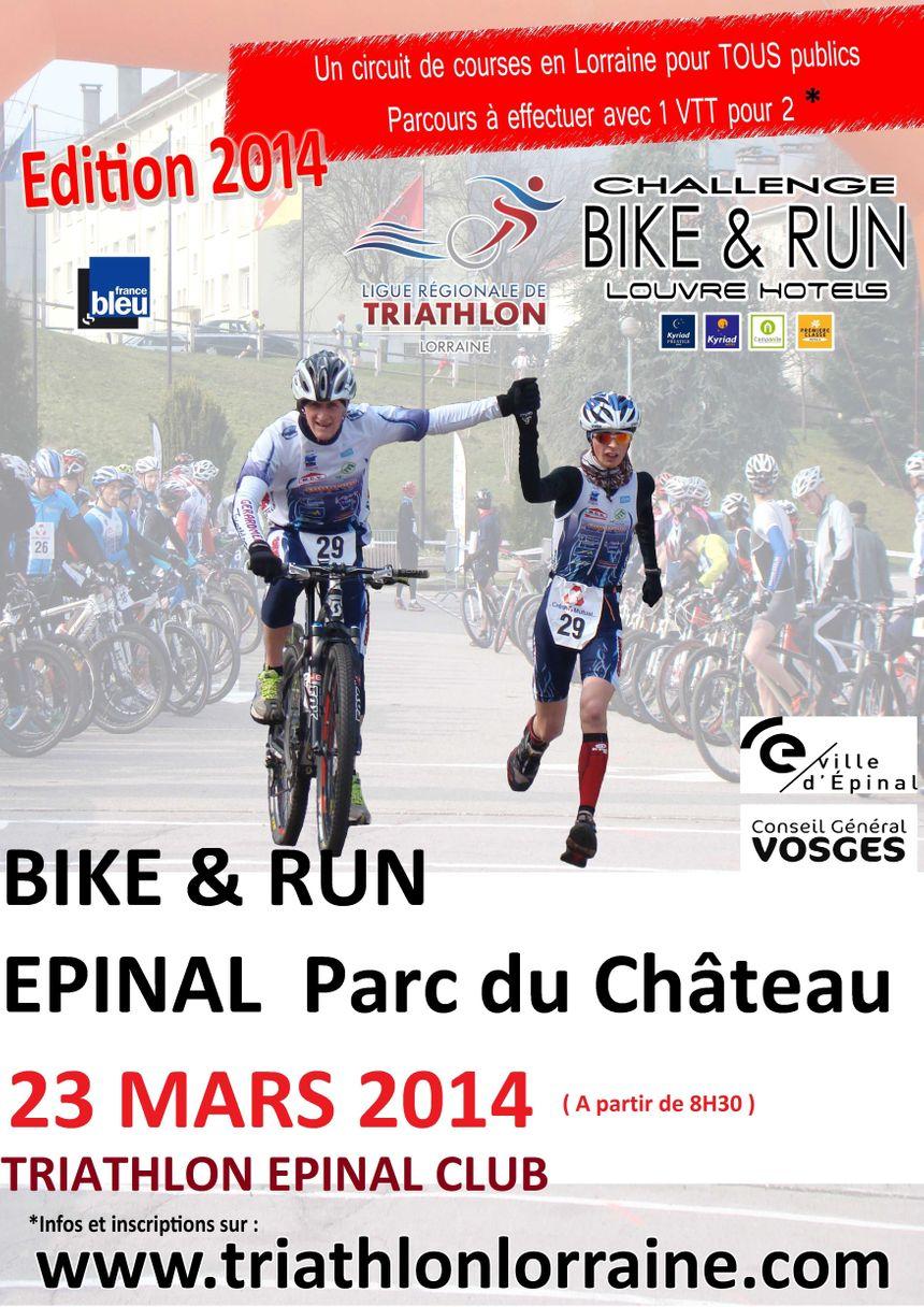 Bike and run epinal