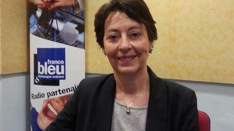 Adeline Hazan Maire de Reims France Bleu Champagne-Ardenne