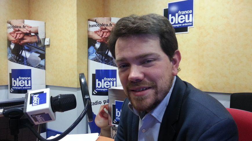 Boris Ravignon, candidat de la droite à la mairie de Charleville-Mézières