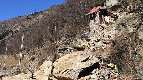 Eboulement mortel à Isola-Village, dans les Alpes-Maritimes